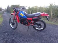 Yamaha dt 125 project barn find