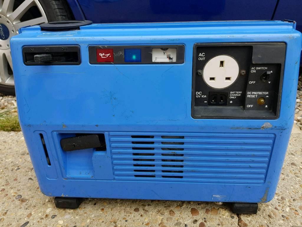 Yamaha ef600 suitcase generator | in Essex | Gumtree