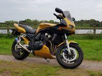 1999 Yamaha fazer 600. High mileage but great bike!