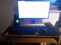 £150 OBO Gaming PC with monitor and accessories