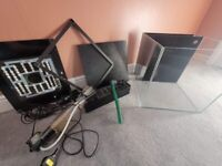 Marine nano tank 60litres for sale or swap *see details*