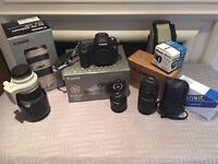 Canon 5D Mark III with lens and accessories bundle