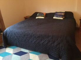 7' Emporer bed for sale. Can include bed linen. No headboard. Good condition Buyer to collect