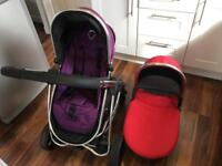 iCandy pram and pushchair