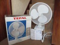 Fan Electric, Brand Tefal, White