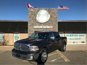 2017 Ram 1500 WOW LARAMIE DIESEL LOW KM! FINANCING AVAILABLE!