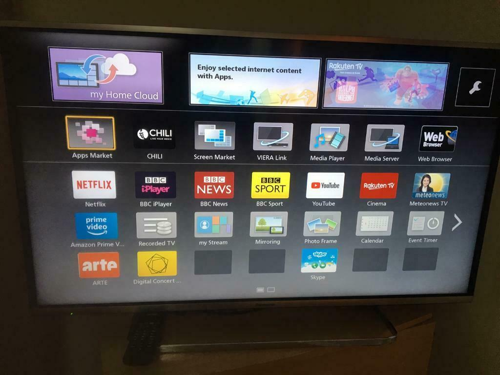 40INCHES PANASONIC SMART TV WITH REMOTE IN PERFECT WORKING CONDITIONS | in  Springburn, Glasgow | Gumtree