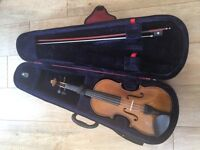 Sentor Student II Violin (3/4) Including Case and Rosin, Ex Cond