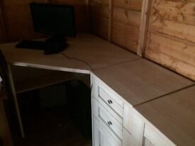 Desk and office furniture