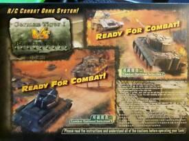 Infra-red RC battle tanks