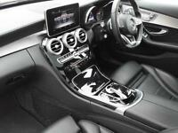 Mercedes-Benz C Class C220 BLUETEC AMG LINE PREMIUM PLUS (white) 2014-12-11