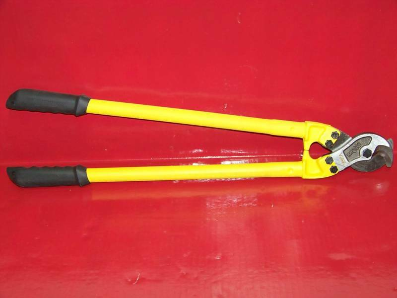"24"" 600 MM WIRE CABLE CUTTER ELECTRICAL TOOLS"