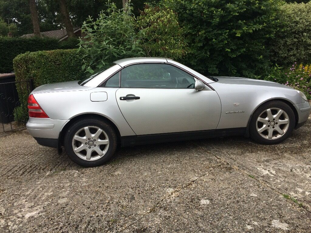 mercedes benz slk 230 kompresser 2 seater convertible silver in poole dorset gumtree. Black Bedroom Furniture Sets. Home Design Ideas