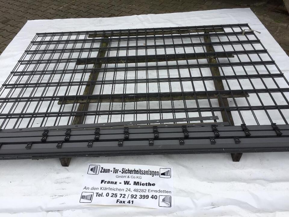 Zaunanlage 18/100 DL - S fvz und pulverbeschi. in Emsdetten