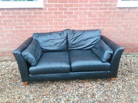 Marks and Spencer's Leather Sofa