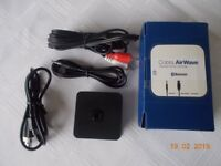 Cobra AirWave Wireless Bluetooth Music Receiver media bridge CWA BT160E