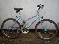 "Girl's Raleigh Camero bicycle 24"" wheel"
