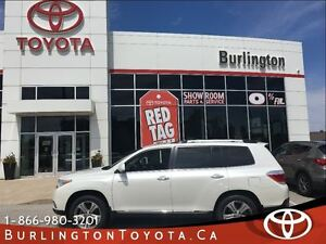 2012 Toyota Highlander LIMITED LOW KM'S