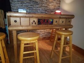 Bar & 6 stools
