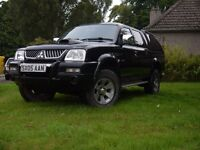 L200 FULL MOT ONLY 82000 MILES GOOD LEATHER INTERIOR