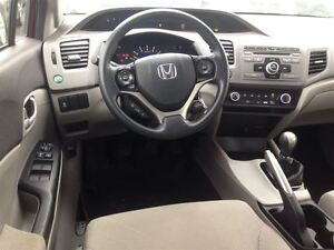 2012 Honda Civic LX 1 Owner - FREE WINTER TIRE PACKAGE London Ontario image 13