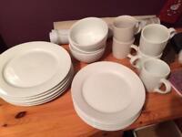 Plates, cups, bowls