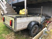 5x4 trailer with electrics