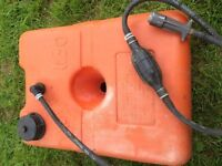 Outboard fuel tank 30 litres with connector