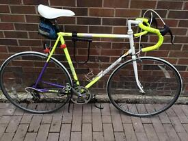 Raleigh vintage road bike race push bike