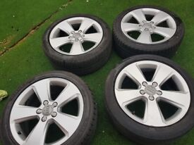 "Genuine Audi Wheels 17"""