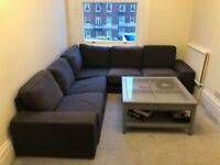 IKEA KVIK Grey Corner Sofa (RRP £1,095) - Collection only
