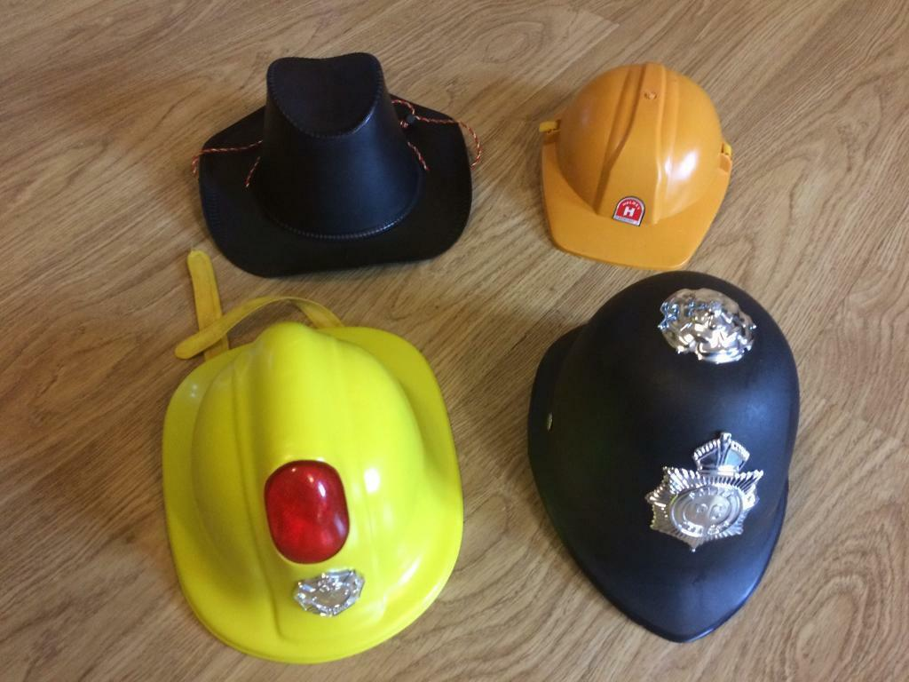 Kids role play hats
