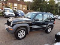 2002 Jeep Cherokee 2.4 Sport Station Wagon 4x4 with 12mths MOT