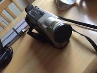 Sharp vl 8mm PAL Tape Camcorder Retro!!!