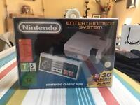 NES Mini Boxed with Extra Controller