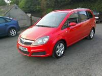 07 Vauxhall Zafira 1.6 7 seater Moted July 2017( can be viewed inside anytime)