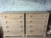 Pair of new drawers