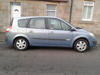 2005 RENAULT GRAND SCENIC 1.6 petrol, 7 seater, TOW_BAR,10 months MOT, NON SMOKER.