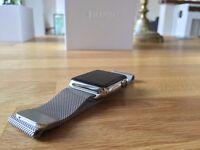 Apple Watch 42mm Stainless Steel Silver - Milanese Loop Edition