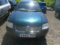 VOLKSWAGEN PASSAT 2.0 SE 4dr MOT JUST OUT 12/06/18 TRADE IN TO CLEAR COMPLETE CAR DRIVES FINE 2001