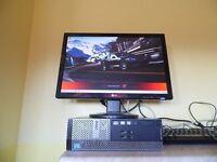 SUPER FAST Dell Optiplex 3020 intel core i5 QUAD CORE TOWER with FREE colour laser printer