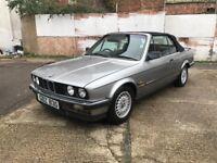 BMW E30 325I CONVERTIBLE GENUINE (not e28, e36, e38, e92)