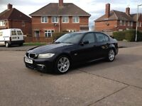 Bmw 318d M-Sport 2009/59 FSH/9 dealer stamps 6 speed manual 141bhp 2-owners £5250