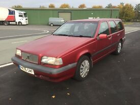 1996 Volvo 850 2.0 estate. Petrol. Automatic. Last serviced at 88k. Currently mileage 94k Full MOT