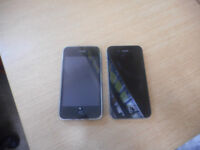 2 iphones for sale iphone 3g and iphone 4s both unlocked and very good condition