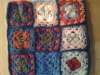 hand crochet double sided cover could be used for tablets