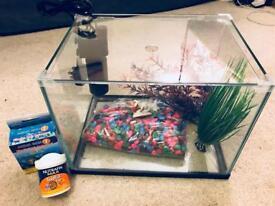 Fish tank & starter kit