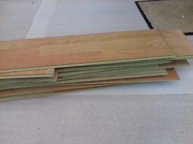 Laminate flooring 14.5 x 9ft