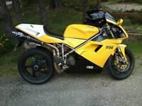 Swap Ducati 996 16.8k miles FSH new MOT