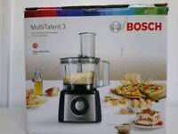 BOSCH Multi Talent 3 MCM3501MGB Food Processor.
